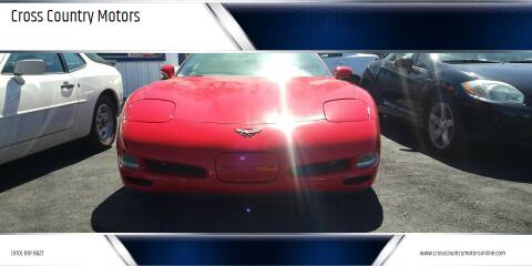 2004 Chevrolet Corvette for sale at Cross Country Motors in Loveland CO