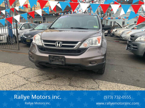 2011 Honda CR-V for sale at Rallye  Motors inc. in Newark NJ
