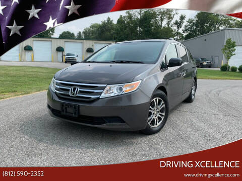 2013 Honda Odyssey for sale at Driving Xcellence in Jeffersonville IN