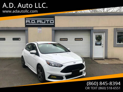 2017 Ford Focus for sale at ADAuto LLC in Bristol CT