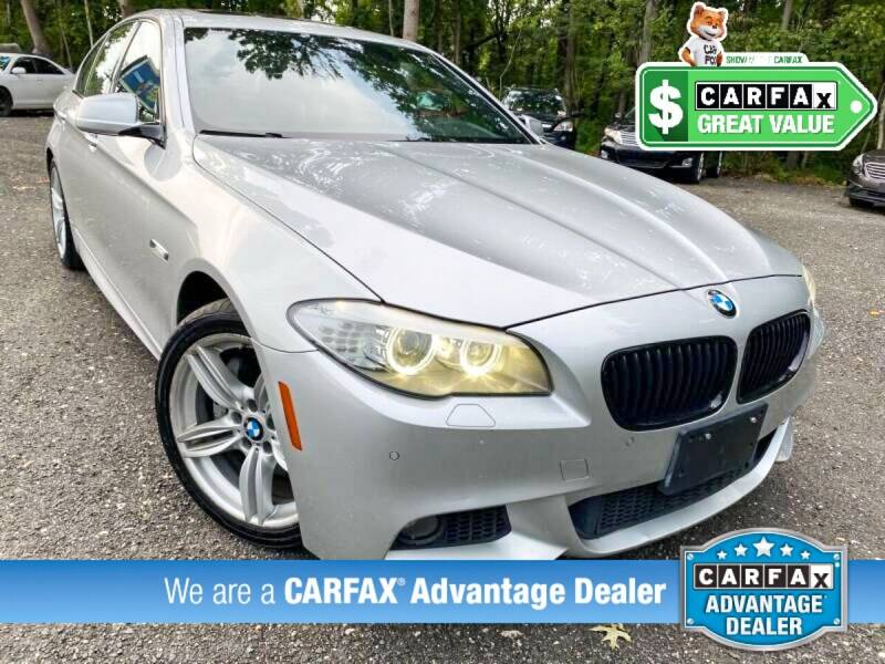 2013 BMW 5 Series for sale at High Rated Auto Company in Abingdon MD