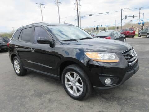 2010 Hyundai Santa Fe for sale at Fox River Motors, Inc in Green Bay WI