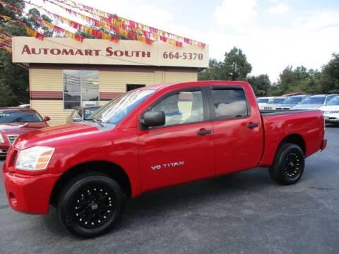 2007 Nissan Titan for sale at Automart South in Alabaster AL