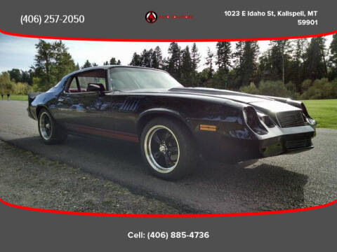 1978 Chevrolet Camaro for sale at Auto Solutions in Kalispell MT