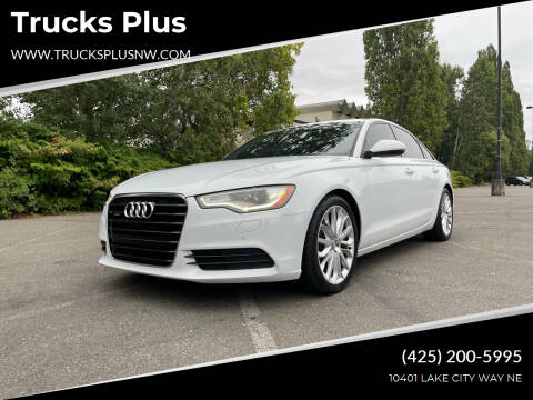 2013 Audi A6 for sale at Trucks Plus in Seattle WA