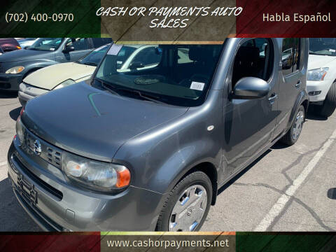 2009 Nissan cube for sale at CASH OR PAYMENTS AUTO SALES in Las Vegas NV