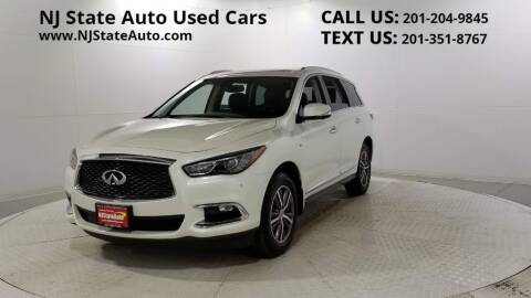 2017 Infiniti QX60 for sale at NJ State Auto Auction in Jersey City NJ