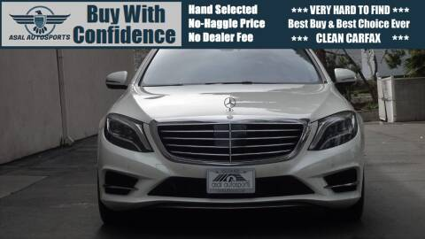 2014 Mercedes-Benz S-Class for sale at ASAL AUTOSPORTS in Corona CA