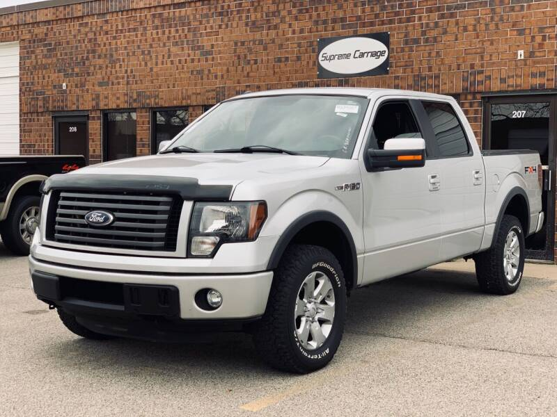 2011 Ford F-150 for sale at Supreme Carriage in Wauconda IL