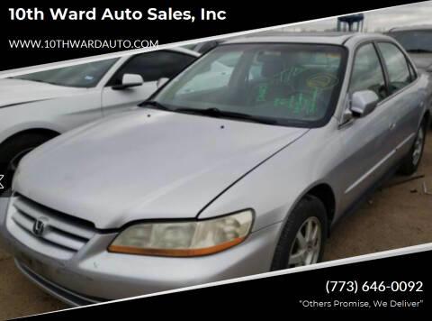 2002 Honda Accord for sale at 10th Ward Auto Sales, Inc in Chicago IL