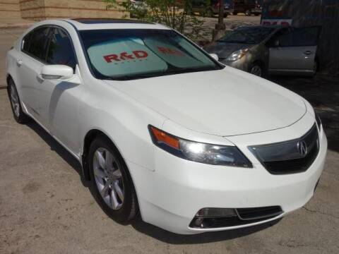 2014 Acura TL for sale at R & D Motors in Austin TX
