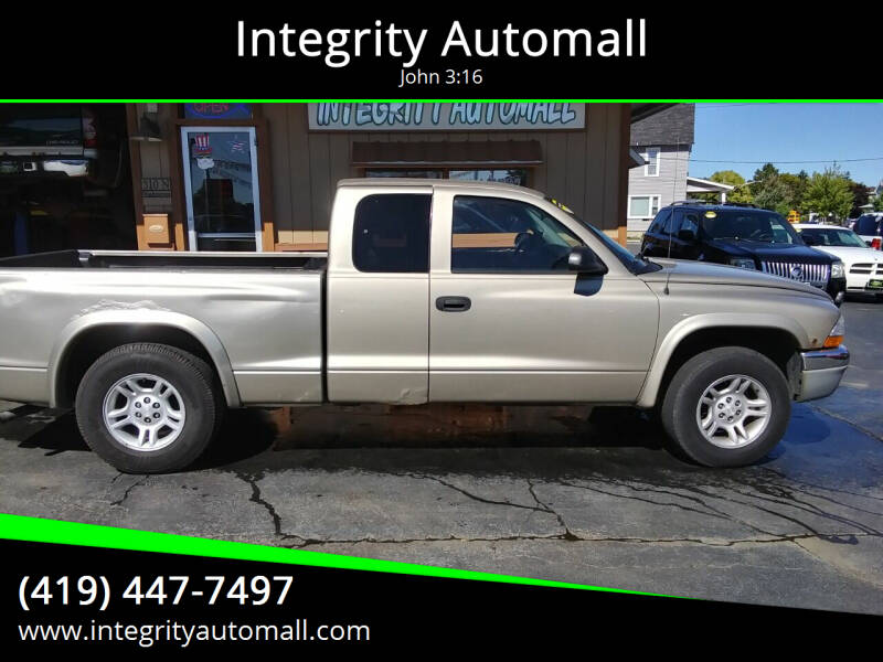2004 Dodge Dakota for sale at Integrity Automall in Tiffin OH