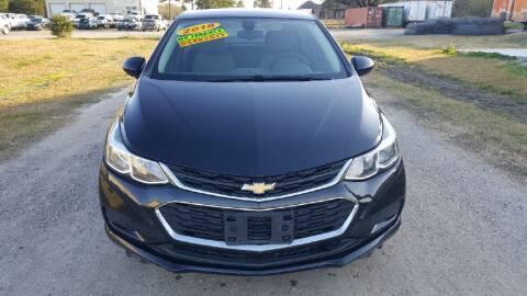 2018 Chevrolet Cruze for sale at Auto Guarantee, LLC in Eunice LA