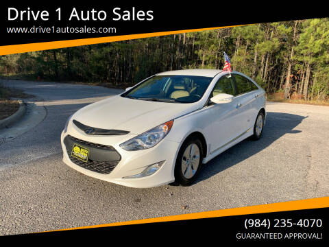 2015 Hyundai Sonata Hybrid for sale at Drive 1 Auto Sales in Wake Forest NC