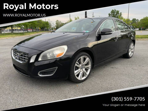 2011 Volvo S60 for sale at Royal Motors in Hyattsville MD