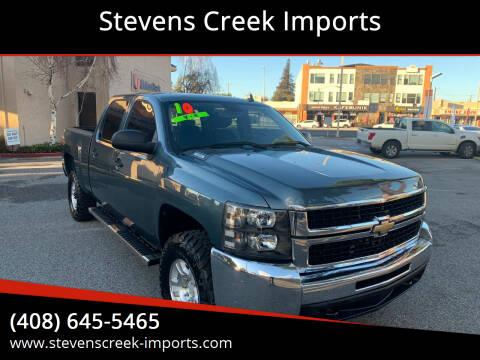2010 Chevrolet Silverado 2500HD for sale at Stevens Creek Imports in San Jose CA