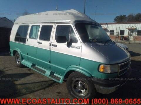 1994 Dodge Ram Van for sale at East Coast Auto Source Inc. in Bedford VA