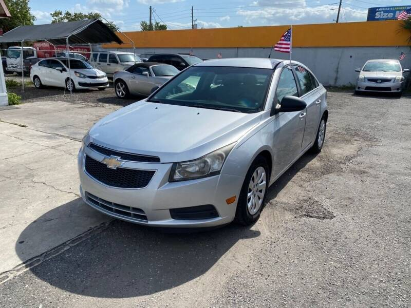 2011 Chevrolet Cruze for sale at CENTRAL FLORIDA AUTO MART LLC in Orlando FL