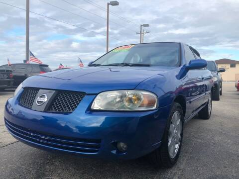 2006 Nissan Sentra for sale at EXECUTIVE CAR SALES LLC in North Fort Myers FL