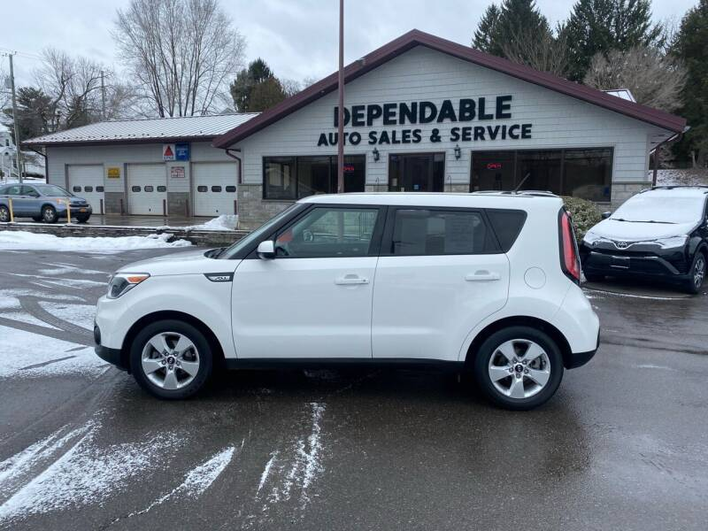 2018 Kia Soul for sale at Dependable Auto Sales and Service in Binghamton NY