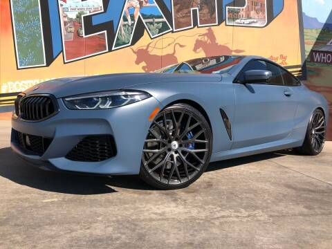 2019 BMW 8 Series for sale at Sparks Autoplex Inc. in Fort Worth TX