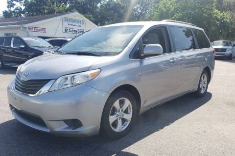 2011 Toyota Sienna for sale at Linus International Inc in Tampa FL