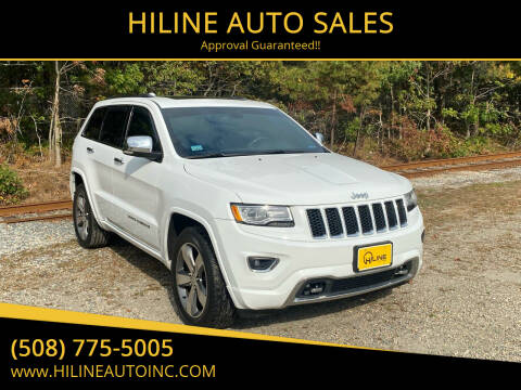 2014 Jeep Grand Cherokee for sale at HILINE AUTO SALES in Hyannis MA