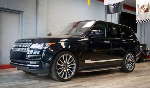 2016 Land Rover Range Rover for sale at MEE Enterprises Inc in Milford MA