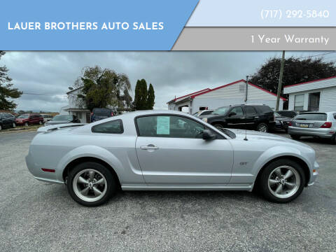 2006 Ford Mustang for sale at LAUER BROTHERS AUTO SALES in Dover PA