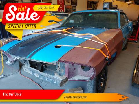 1970 Ford Mustang MACH 1 M CODE 4 SPEED for sale at The Car Shed in Burleson TX