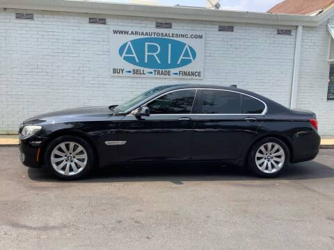 2011 BMW 7 Series for sale at ARIA  AUTO  SALES in Raleigh NC