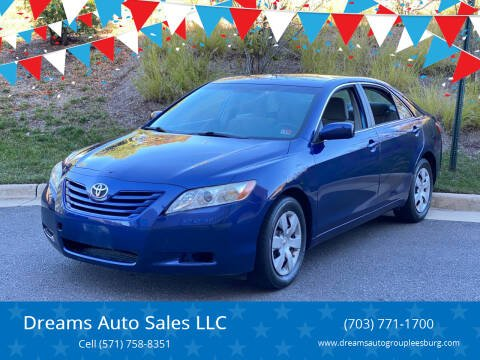2007 Toyota Camry for sale at Dreams Auto Sales LLC in Leesburg VA
