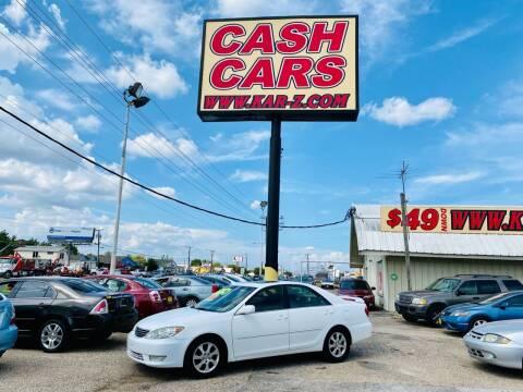 2005 Toyota Camry for sale at www.CashKarz.com in Dallas TX