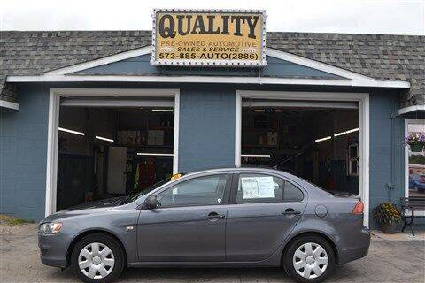 2008 Mitsubishi Lancer for sale at Quality Pre-Owned Automotive in Cuba MO