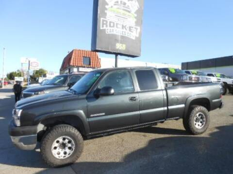 2003 Chevrolet Silverado 2500HD for sale at Rocket Car sales in Covina CA
