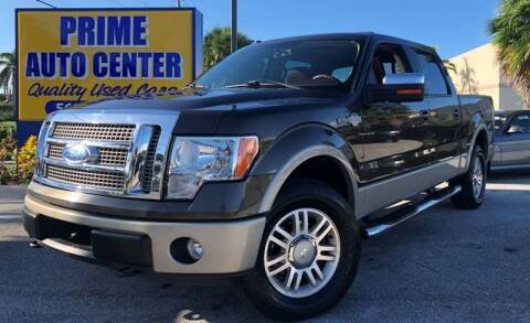 2009 Ford F-150 for sale at PRIME AUTO CENTER in Palm Springs FL