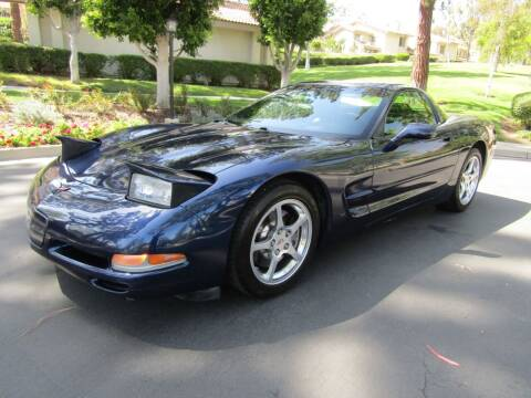 2001 Chevrolet Corvette for sale at E MOTORCARS in Fullerton CA