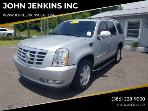 2011 Cadillac Escalade for sale at JOHN JENKINS INC in Palatka FL