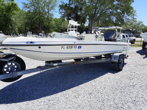 1986 Action Craft  Flatsmaster SE for sale at Boats And Cars - Manatee Marine Unlimited in Palmetto FL