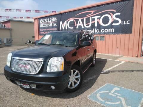 2011 GMC Yukon for sale at MC Autos LLC in Pharr TX