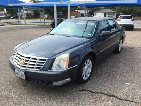 2009 Cadillac DTS for sale at Chuck Spaugh Auto Sales in Lubbock TX