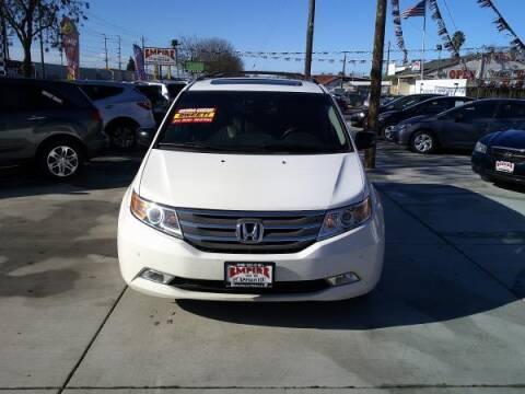 2012 Honda Odyssey for sale at Empire Auto Sales in Modesto CA