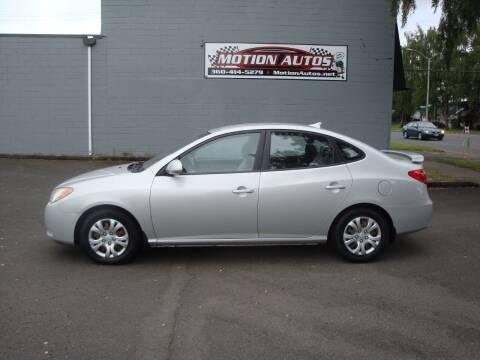 2009 Hyundai Elantra for sale at Motion Autos in Longview WA