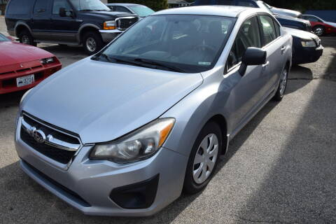 2012 Subaru Impreza for sale at Portsmouth Auto Sales & Repair in Portsmouth RI