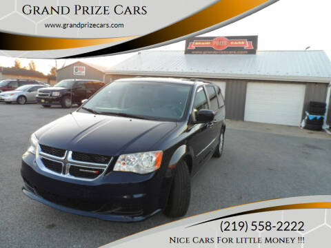 2014 Dodge Grand Caravan for sale at Grand Prize Cars in Cedar Lake IN