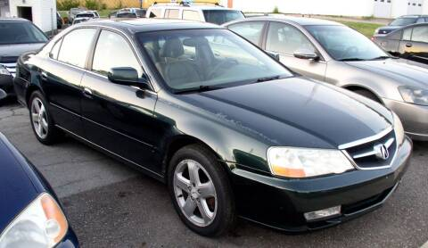 2002 Acura TL for sale at Angelo's Auto Sales in Lowellville OH