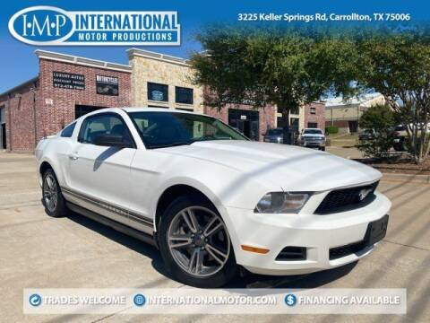 2011 Ford Mustang for sale at International Motor Productions in Carrollton TX