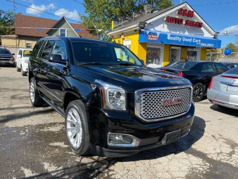 2015 GMC Yukon for sale at C & M Auto Sales in Detroit MI
