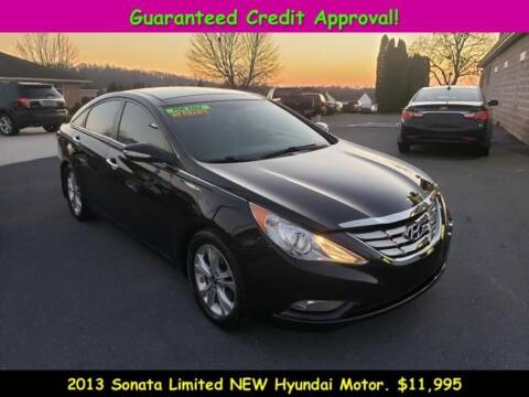 2013 Hyundai Sonata for sale at Fortnas Used Cars in Jonestown PA