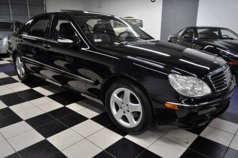 2004 Mercedes-Benz S-Class for sale at Podium Auto Sales Inc in Pompano Beach FL